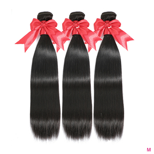 FDX 3 Pcs Bundles Straight Hair Bundles African American Brazilian Hair Weave Bundles 8-40 inches human hair