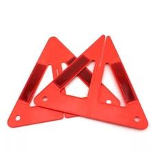 Folding Warning Holder Car Traffic Signal Parking Sign Frame Portable Safety  Reflective Emergency Warning Shelf For Vehicle