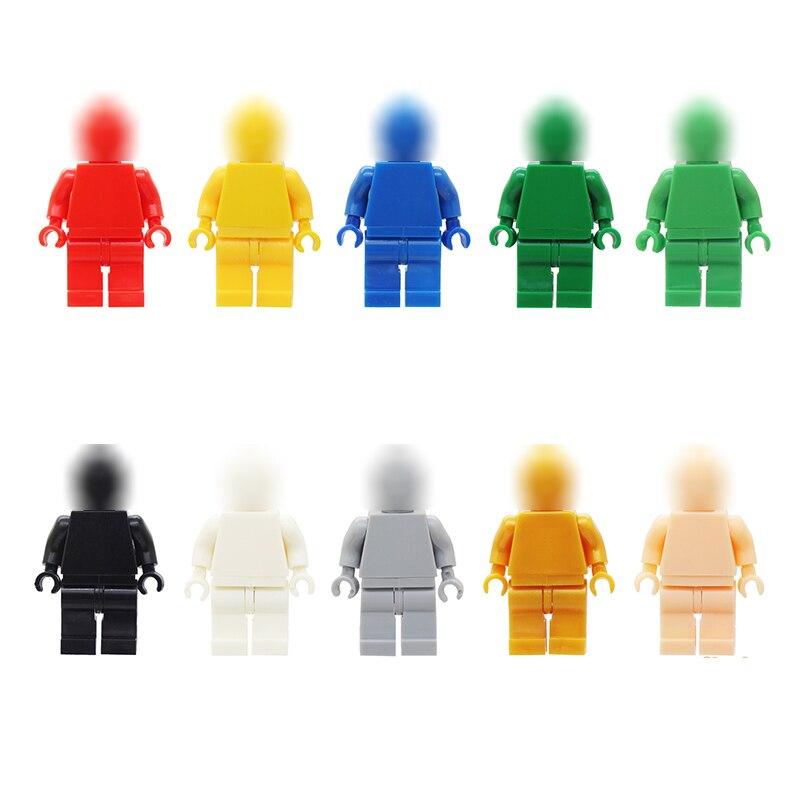 Moc DIY figura bloques de construcción Juguete de Color liso Compatible con legointy figura de ladrillo Juguete educativo para regalo de chico