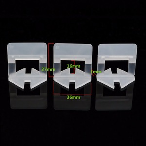 Image 5 - 300pcs פלסטיק קרמיקה פילוס מערכת 200 קליפים + 100 טריזי ריצוף ריצוף כלים טריזי קליפים
