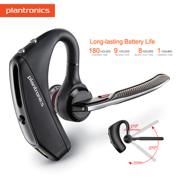 Plantronics Voyager 5200 Charging Case Fashion Busines Earphone Bluetooth Headsets With Noise Reduction For Samsung Xiaomi