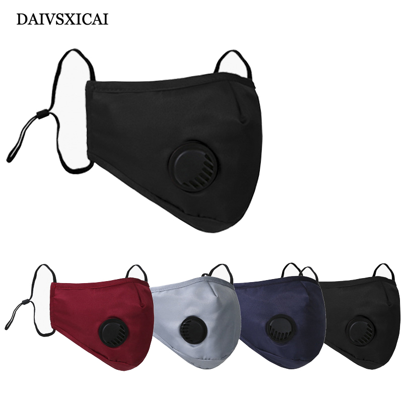 4pcs/lotCotton PM2.5 Mouth Mask Anti Dust Mask Activated Carbon Filter Windproof Mouth-Muffle Bacteria Proof Flu Face Masks Care