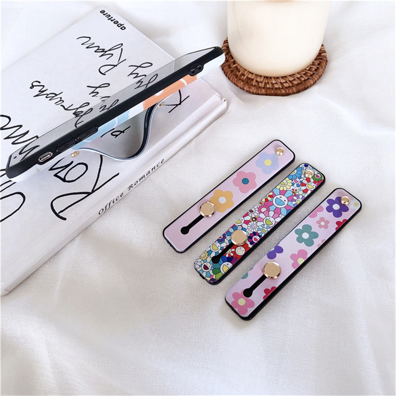 Cute Cartoon Stand Holder Strap For  For Mobile Phone Grip Holder For IPhone X 8 7 6 Plus IPAD For Samsung For Huawei Phone Case