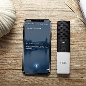 Image 3 - SSK Bluetooth Smart Language Translator Two Way Real Time 80+ Languages Interpreter Translation for Learning Travelling Business