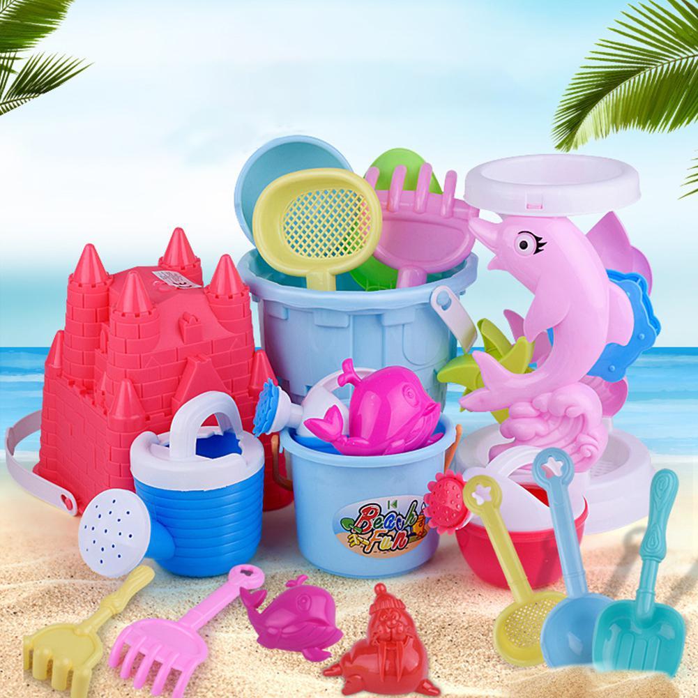 Children Summer Play Sand Dredging Beach Toy Set Beach Bucket Set