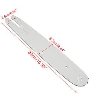 Image 4 - 14 Cal piła łańcuchowa biały profil z piła łańcuchowa 3/8 pr 50 sekcji piła łańcuchowa dla STIHL MS170 MS180 MS250 akcesoria do elektronarzędzi