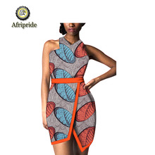 2019 african print dresses for women with Sashes african clothes clothing dashiki wax bazin riche batik AFRIPEIDE S1925048 барто агния львовна игрушки стихи книги с крупными буквами