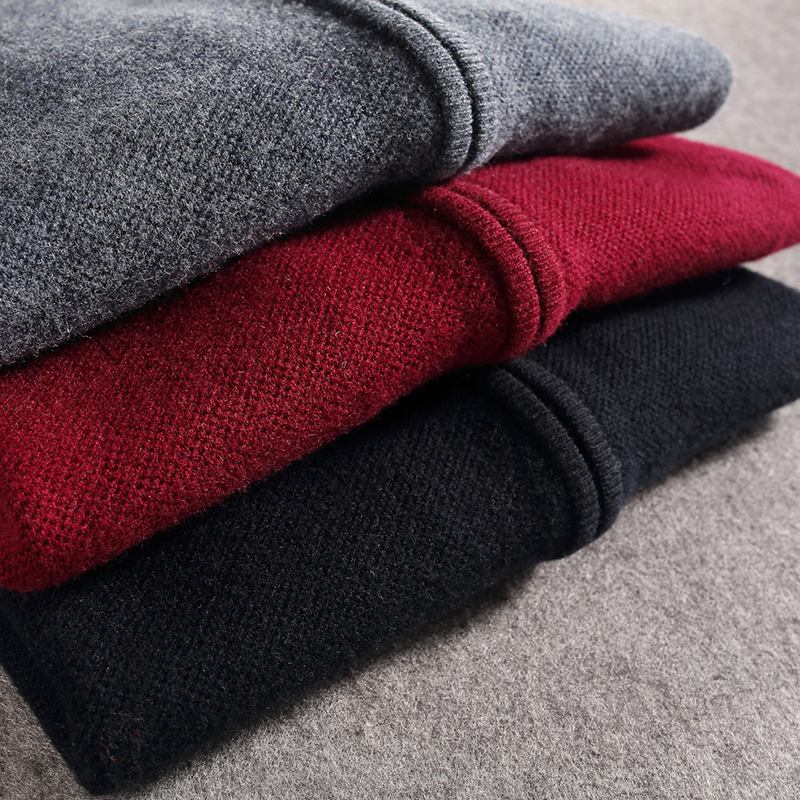 UCAK Brand Pure Merino Wool Sweatercoat Men 2020 New Arrival Solid Zipper Fashion Style Pull Homme Spring Autumin Sweater  U3172