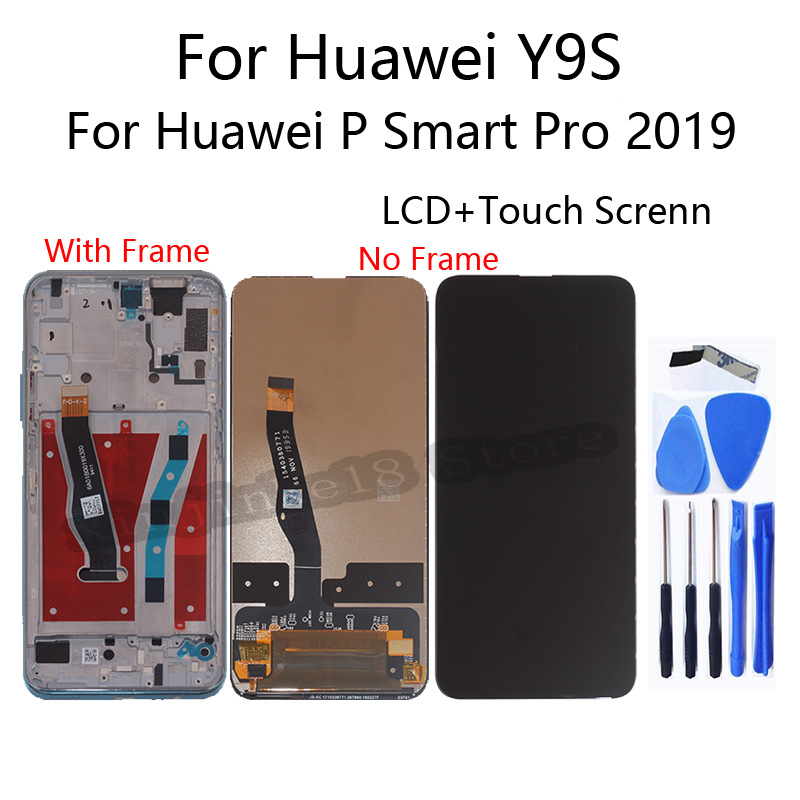 ЖК дисплей 659 дюйма для huawei y9s stk l21 l02 l22 lx3 с сенсорным