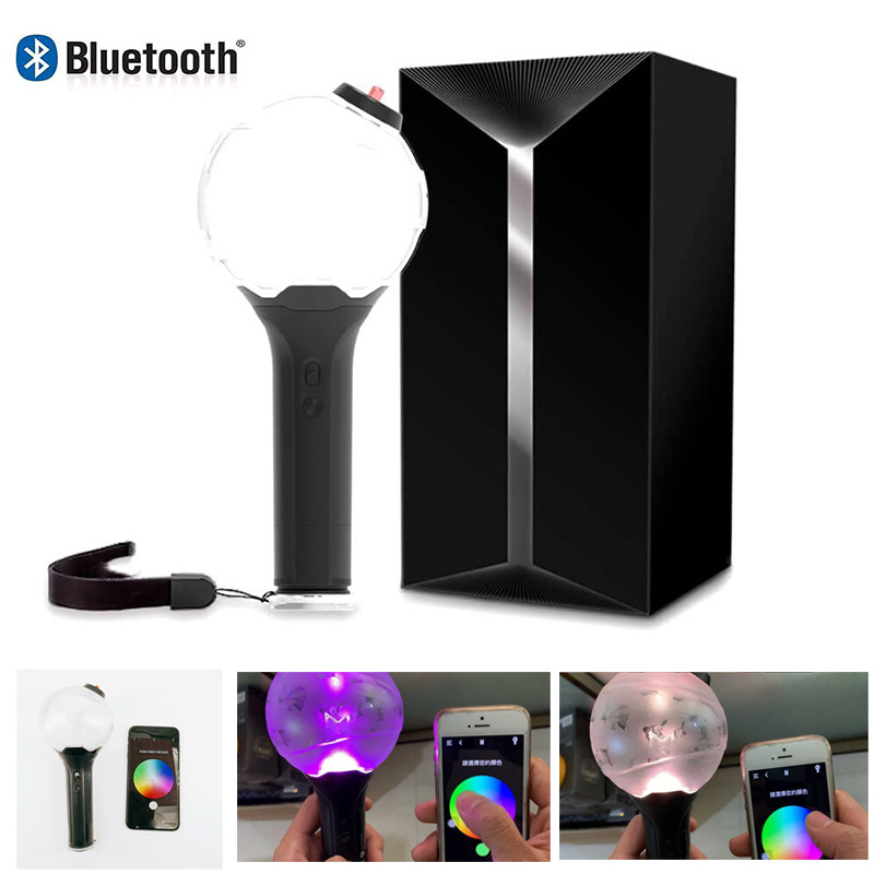 KPOP Bangtan Boys Light Stick Luminous Light-up Lamp Stick Army Bomb Bluetooth Lightstick Kpop Bangtan Boys Fans Collection