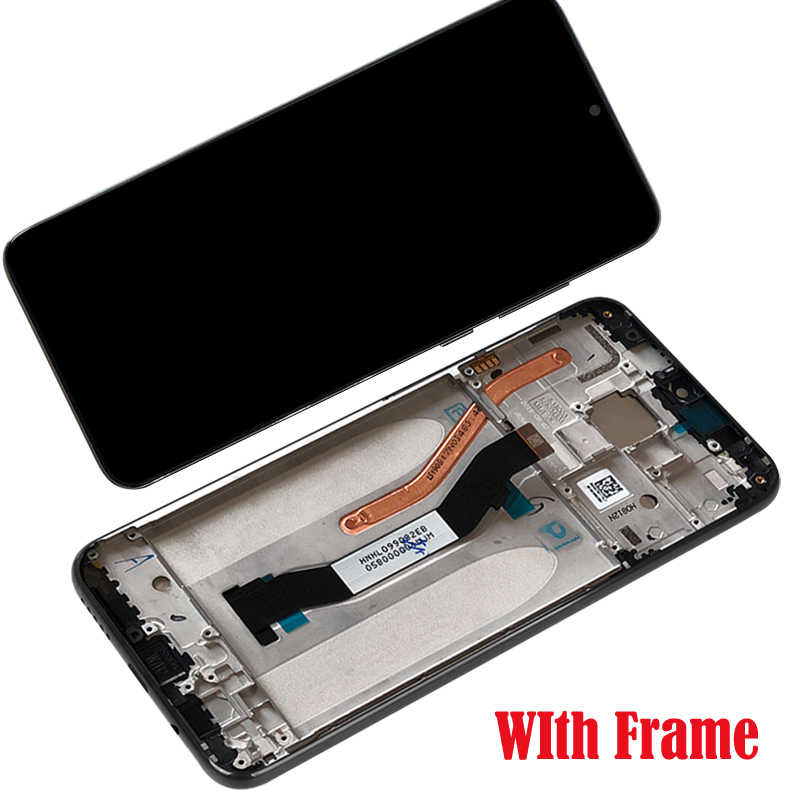 Tela lcd para xiaomi redmi note 8 pro, digitalizador touch, versão global lcd lcd