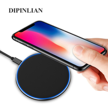 Led Breathing Light 10W Wireless Charger for iPhone X/XS Max
