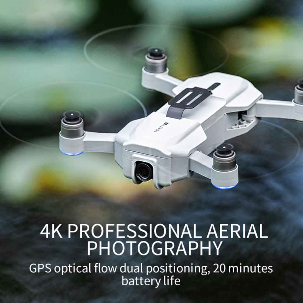 lowest price USB Charging RC Drone Professional WIFI Foldable Quadcopter 4K Camera Adults Headless Mode Toy Brushless Motor 2 4GHz Mini GPS