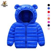Hoodies Coat Children Outwear Jacket Cotton-Padded Autumn Baby-Boys-Girls Winter New