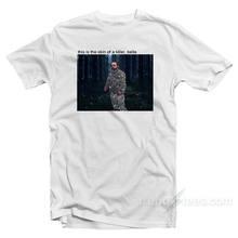 Camiseta Vintage Unisex, camiseta de Horror de Bella, The Skin Of A Killer, ropa clásica
