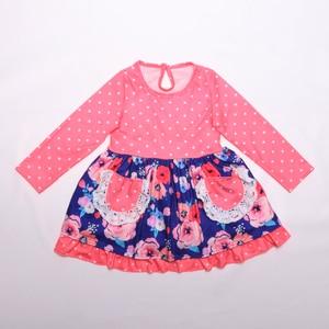 Image 4 - ילדי בוטיק בגדים לילדים בתפזורת סיטונאי טלאי חורף תינוק בגדי בנות בוטיק תלבושת