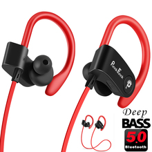 Bluetooth אוזניות אלחוטי אוזניות Bluetooth 5.0 ספורט אוזניות עמיד למים IPX4 רעש ביטול עמוק בס סטריאו אוזניות/מיקרופון