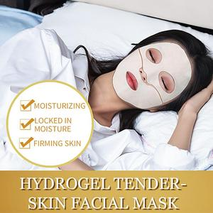 Image 2 - ILISYA Hydrogel Facial Mask High Quality Anti Wrinkle Anti Ageing Facial Mask Hydrating Tender Skin Mask Prevent Wrinkles 1 PC