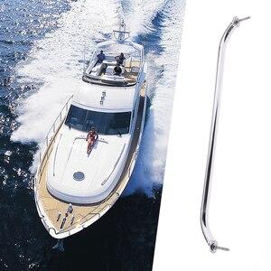 Image 3 - 1 adet cilalı tekne küpeşte paslanmaz çelik yat deniz kapak kulp kapı küpeşte tekne aksesuarı korozyon direnci