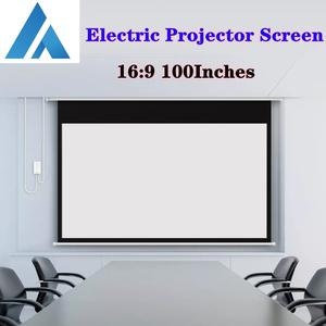Projector-Screen TV Hologram 100inch Fengmi Motorized Smart Movie Home-Fabric 16:9 Stand