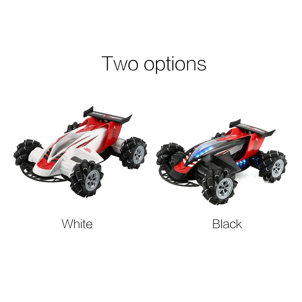 Z108 2.4GHz 1/10 <font><b>RC</b></font> Car <font><b>Drift</b></font> Car 360 Degree Spinning Stunt 20km/h Mecanum Omni Wheel Off-Road Car With Light And Music image