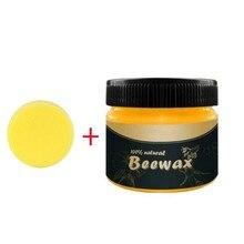 Beewax органический натуральный чистый воск дерево приправа полное решение уход за мебели пчелиный воск для уборки дома бытовой очиститель инструменты