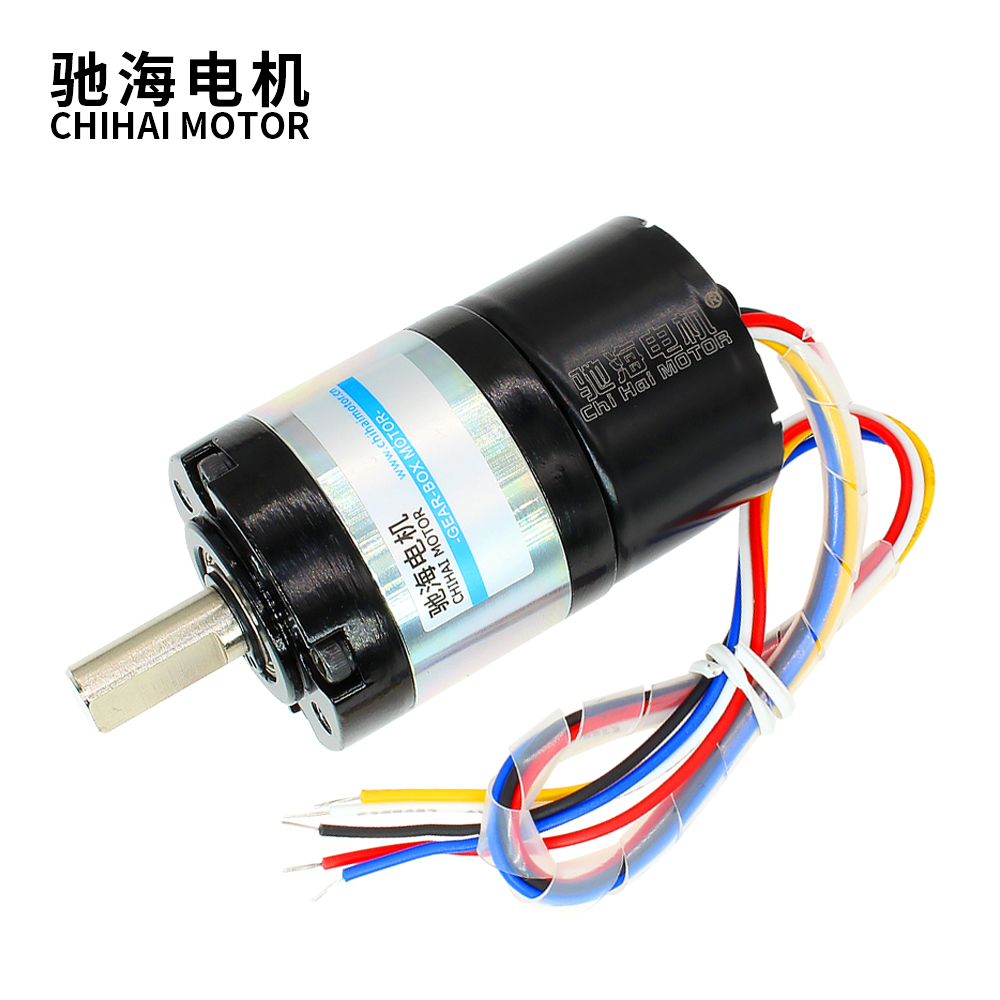 Chihai Motor CHR-36GP-BLDC3525 DC 24V 12V 36mm High Torque dc planetary gear brushless motor with built-in hall drive image