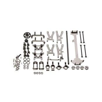 Upgrade Metal Parts Kit for WLtoys A959 A979 A959B A979B 1/18 RC Car Parts Titanium Version