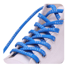 (30Pairs/Lot) Weiou Amazing 7mm Flat Athletic Designer Shoelaces With Printing Japanese Katakana Letter Shoelaces Quality Laces