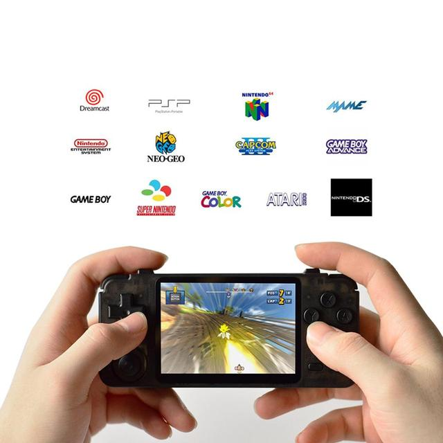DHL Free Shipping RK2020 Handheld Game Console 3.5 Inch With Gaming System 15000 Games Built-in Classic Video Game Console