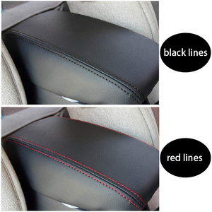Image 5 - Funda para reposabrazos Central de coche, protección para consola Central, Funda de cuero, accesorios de estilismo para coche, para Hyundai Creta ix25 2013 2019
