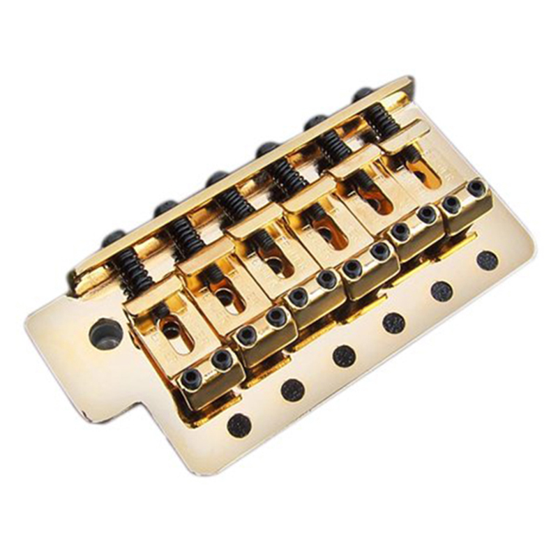 Vintage-Style Strat Bridge Assembly Spacing - Gold