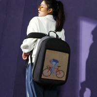 LED Screen Display Backpack DIY Wireless Wifi APP Control Advertising Backpack Outdoor LED Walking Billboard Backpack
