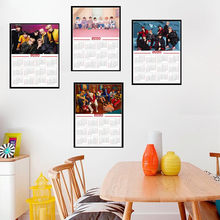 Korean K-POP Band Poster New style latest 2020 Calendar poster decoration painting hd photo paper(China)