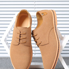 Men Sneakers Shoes Oxford Suede Big-Size Casual Brand Footwear Spring Classic Comfortable