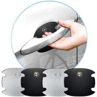 Pegatina de película de protección para manija de puerta de coche, accesorios para Mini Cooper One S Clubman R50 R53 R56 R60 F55 F56 R57 R58 R59 Paceman, 4 Uds.
