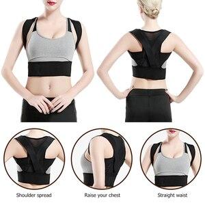 Adjustable Hump Posture Corrector Women Back Brace Shoulder Support Belt