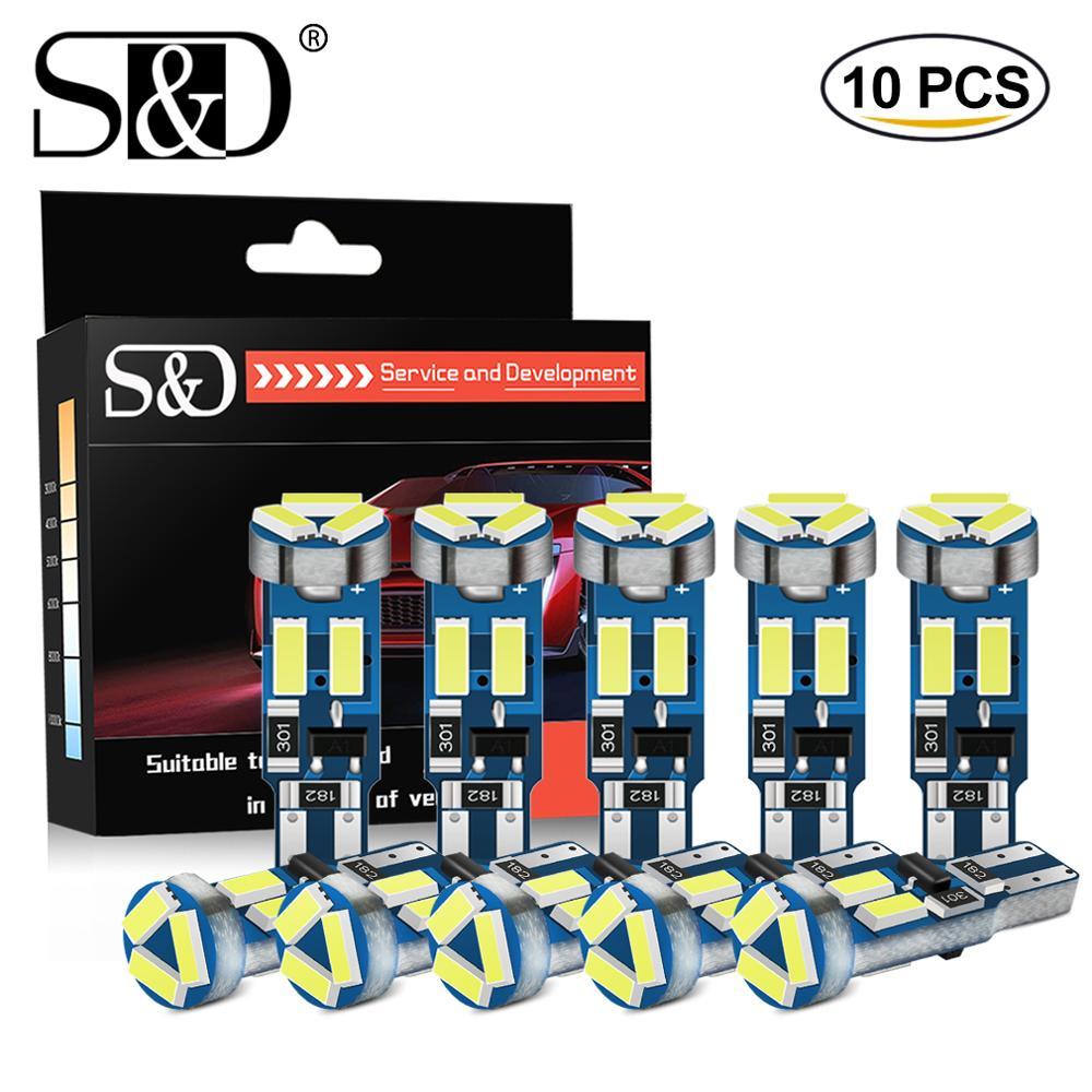 10 stücke T5 led-lampen W3W W 1,2 W 17 37 73 74 Auto LED Lampe Auto Dashboard Instrument Licht birne 12V weiß blau rot gelb grün rosa
