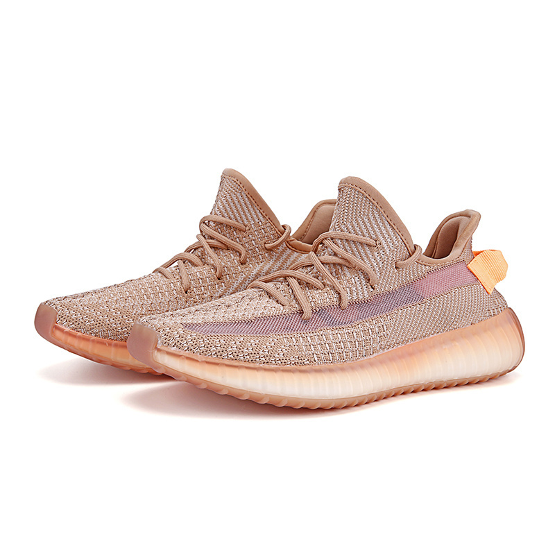 2020 Couples Coconut Shoes Fly Woven Cutout Breathable Soft-Sole Shoes Boy Men Women Running Shoes Casual High Quality Sole