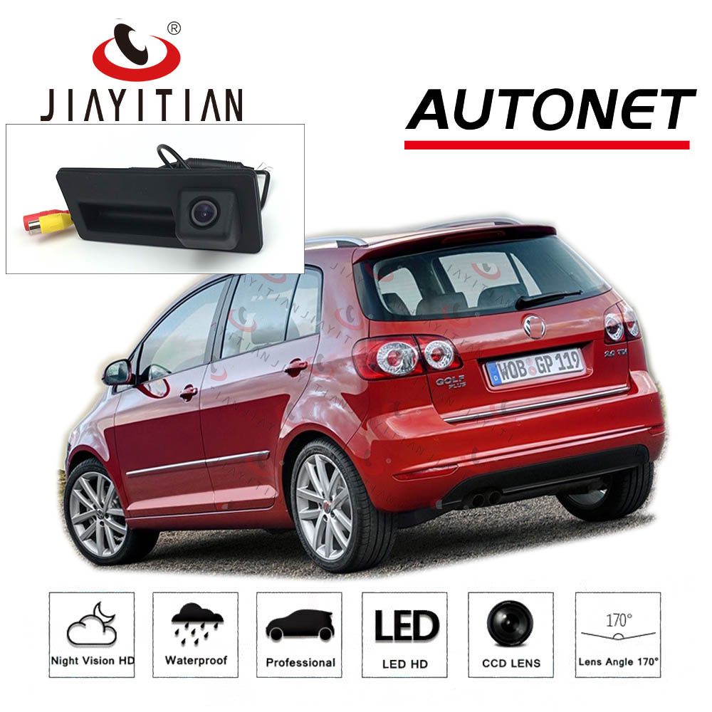 JIAYITIAN Trunk Handle Camera For Vw Golf Plus 2008 2009 2010 2011 2012 2013 2014 Rear View Camera Backup CCD Night Vision CAM