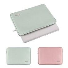 Housse en cuir PU pour ordinateur portable 11/12/13.3/14/15.6 pouces, sacoche pour Macbook, iPad, Dell, HP, Asus, Lenovo
