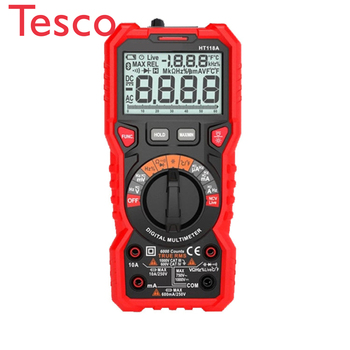 HT-118A 6000 Counts Digital Multimeter T-RMS/Autorange smart chip