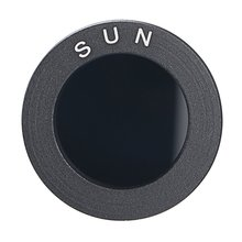 Astronomical Telescope Accessories 0.965 /1.25 Black Sun Filters Full-aluminum Standard Thread for Astro Optics Eyepiece ACEHE