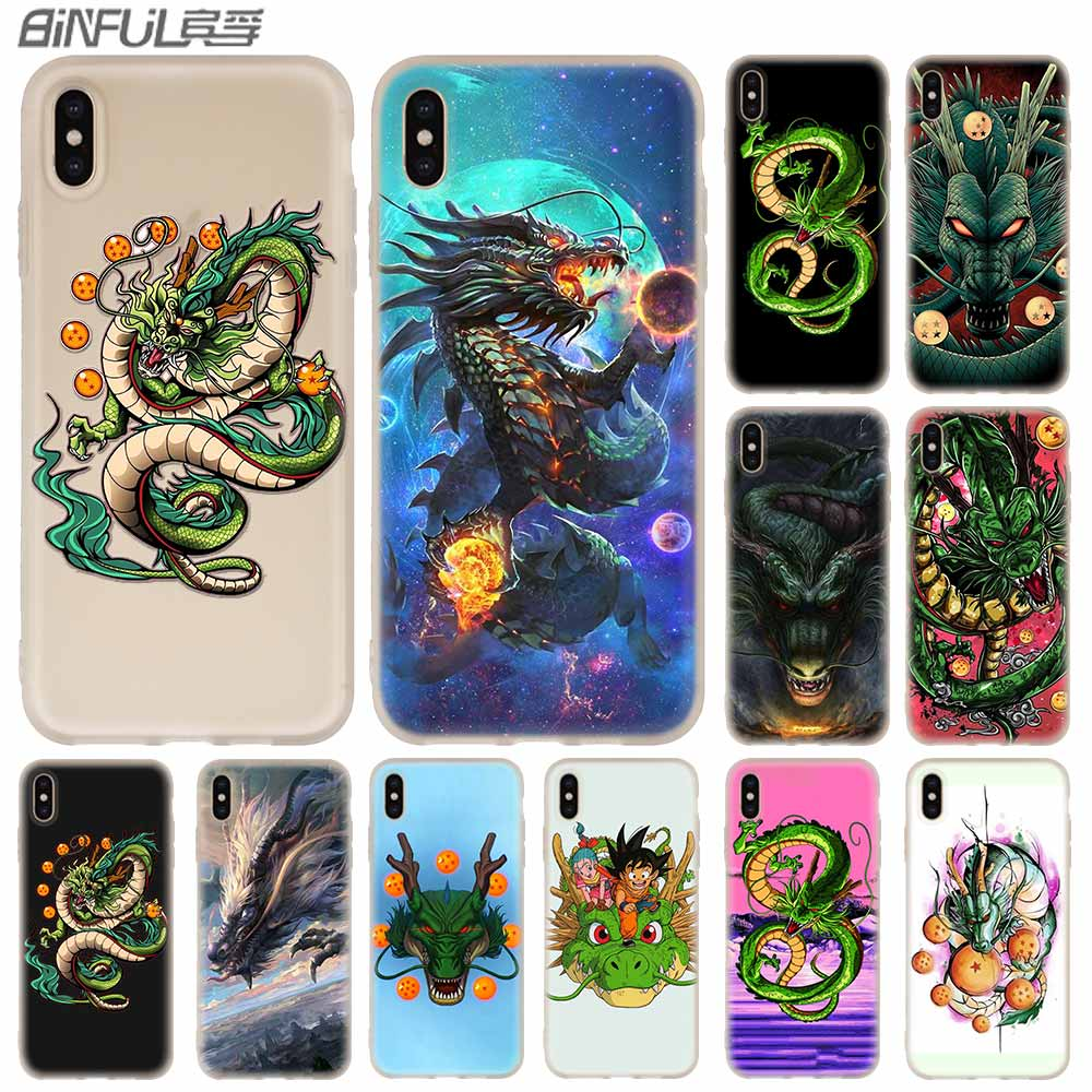 Chinese Dragon Cover <font><b>Baseus</b></font> Clear Case Silicone soft for <font><b>iPhone</b></font> X 11 Pro XS Max XR 6 7 8 Plus 5 4 S Cases Funda image