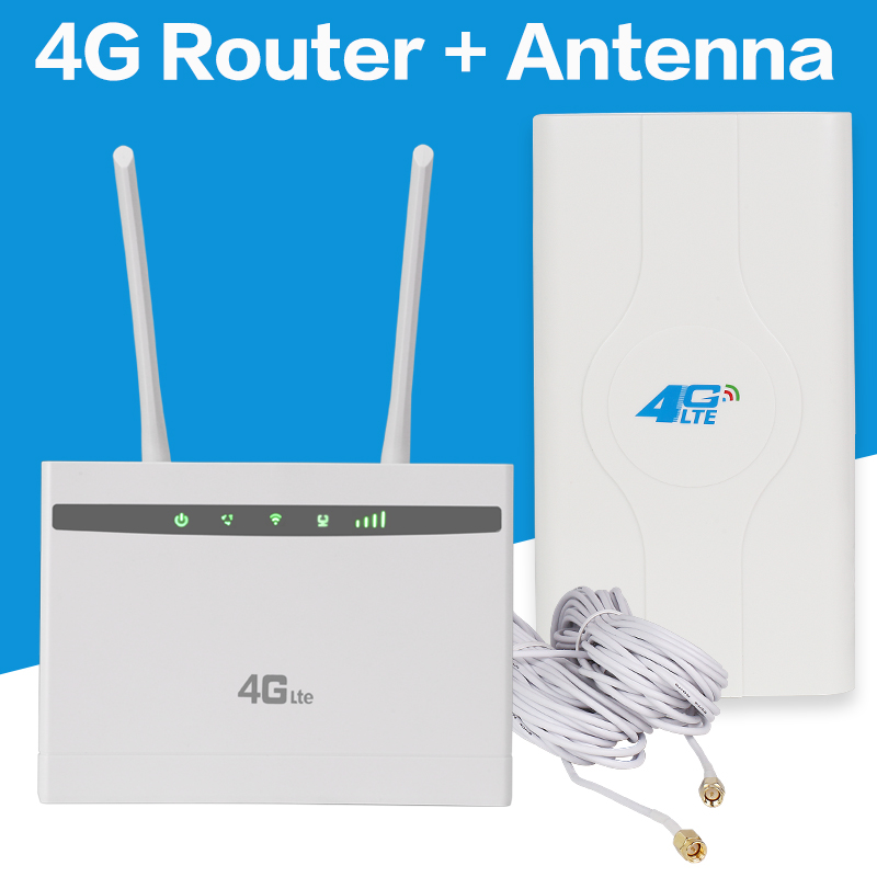 Unlocked 3g 4g LTE Router 150Mbs Wifi LTE CPE Mobile Router LAN Port Support SIM Card Portable Wireless Router WiFi Router