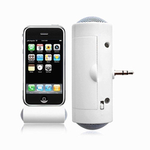 3.5mm Direct Insert Mini Speaker Portable Microphone MP3 Mus
