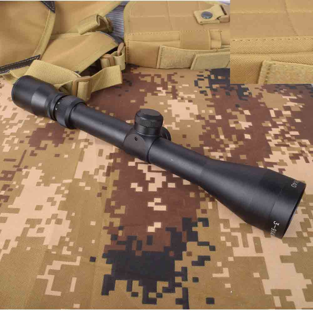 3-9X40 Hunting Air Rifle Scope Wire Rangefinder Reticle Crossbow Or Mil Dot Reticle Riflescope Tactical Optical Sights