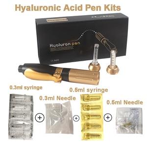 Image 1 - Hylaronic Pen Meso Injection Hyaluronan Acid gun Lip Lifting hyaluron pen Dermal Filler Caneta 0.3ml&0.5ml Noninvasive Nebulizer