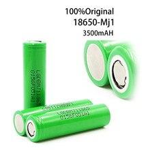 100% original mj1 3.7 v 3500mah 18650 bateria recarregável de lítio para baterias de lanterna para 18650 lg mj1 3500mah bateria