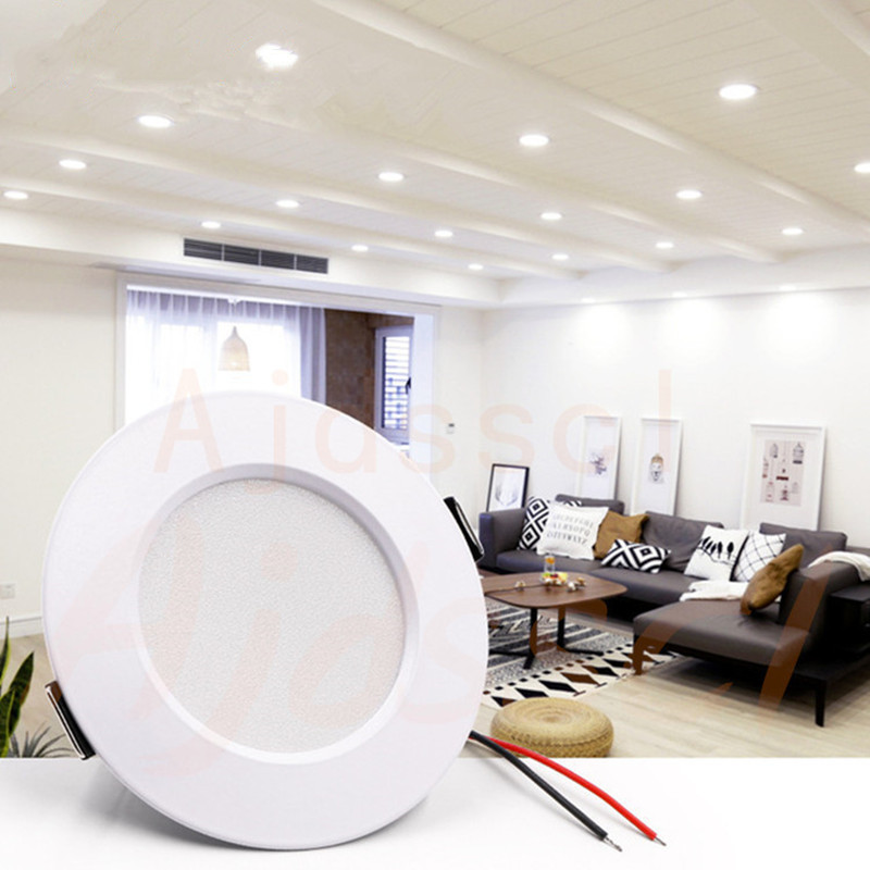 LED Downlight Spot LED Downlight 220V  Dimmable 5W 7W 9W 12W 15W Recessed In LED Ceiling Downlight Light Cold Warm White Lamp